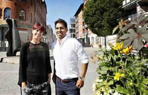Jenny Nordqvist är ägare till frisersalongen Sotlugg och linlugg. Tillsammans med Daniel Swärd, centrumutvecklare,  och andra företagare längs östra Drottninggatan, har hon jobbat med det förslag som tagits fram.