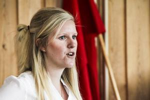 Alexandra Gard uppmanade alla att rösta i EU-valet.