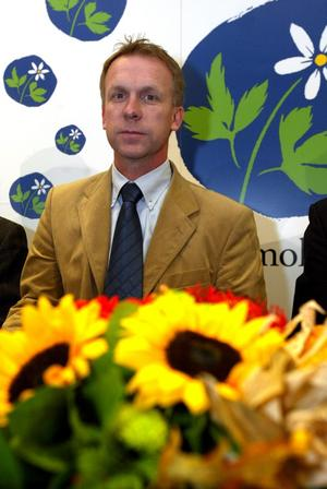 Urban Svensson som medlem i Kristdemokraterna.