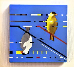 Fåglar i digital störning.