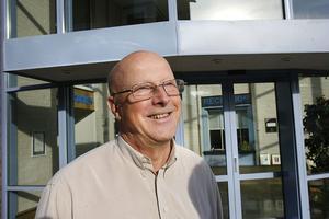 Åke Persson, ägare till Monitor i Hudiksvall.