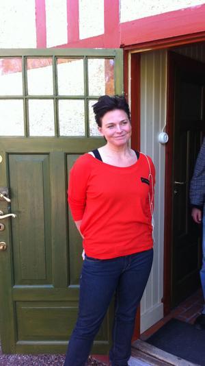 Helena Brunkman är en av ättlingarna i Släktföreningen Carl och Karin Larsson, som äger och driver Carl Larsson-gården.