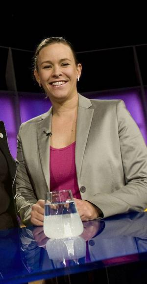 Maria Wetterstrand (MP) får kritik efter partiledarutfrågningen i SVT.Foto: JONAS EKSTRÖMER / SCANPIX