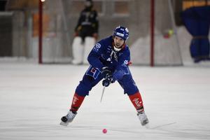 Erik Öckerstedt in action.
