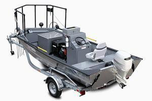 Med hjälp av en specialutrustad båt kan inventeringar göras på det i dag förhållandevis skonsammaste sättet.
