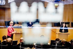 Besserwisserkulturen frodas, menar Bo von Scheele. På bilden syns utrikesminister Margot Wallström (S) i en debatt med Karin Enström (M), som inte har något direkt med debattartikelns innehåll att göra.