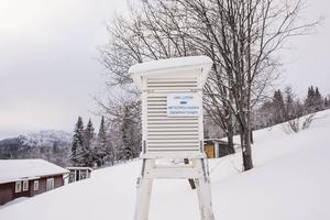 SMHI har haft väderstation i Almdalen sedan 1963.