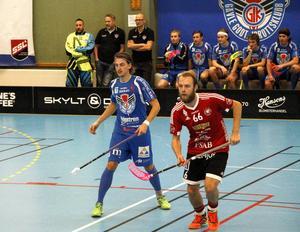 Andreas Dahlqvist är ett frågetecken inför matchen mot Dalen hemma på Träffen på söndagen.