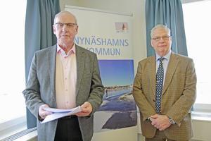 Jarl Karlsson och Göran Söderlöf har genomfört utredningen.