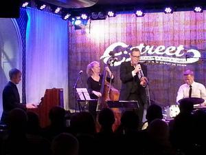Mårten Lundgren med sin kvartett. Arkivfoto: Ulla Hörnell
