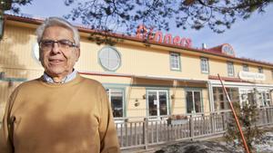 Dinners ägare Georg Häselbarth. Nu tänker han bygga ut hotelldelen vid sin anläggning utanför Arboga. Arkivfoto: Peter Asp.