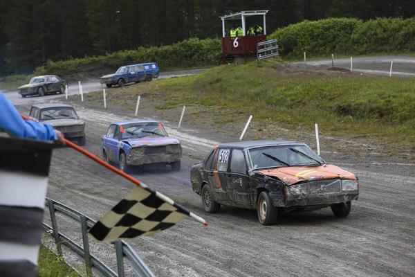 Herrarnas A-final, där Morgan Persson vann.