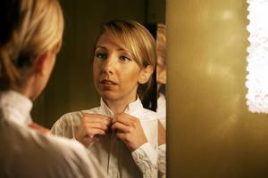 Sopranen Sabina Zweiacker ska sjunga film- och spelmusik med Gävle Symfoniorkester.