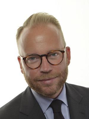 Olof Lavesson (M) vill satsa på den nyskapande kulturen. Pressbild.
