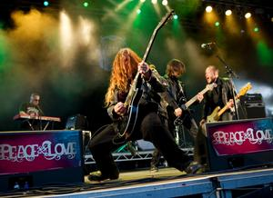 Sator spelade på Peace & Love i Borlänge tidigare i somras.