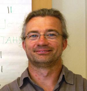 Steffen Dettmann. Ny läkare på internmedicin, Mora lasarett. Foto:Lynda Lundin
