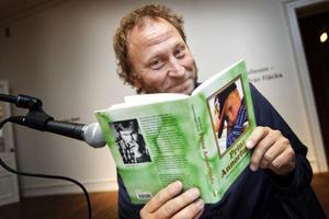 Barn- och ungdomsförfattaren Sören Olsson var på besök i Hälsinglands museum.