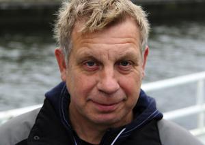 Michael Åhlund är ansvarig för gallringen som görs i Kalix. Han tycker att det är skönt att vara hemma igen efter en månads arbete med siklöjan.
