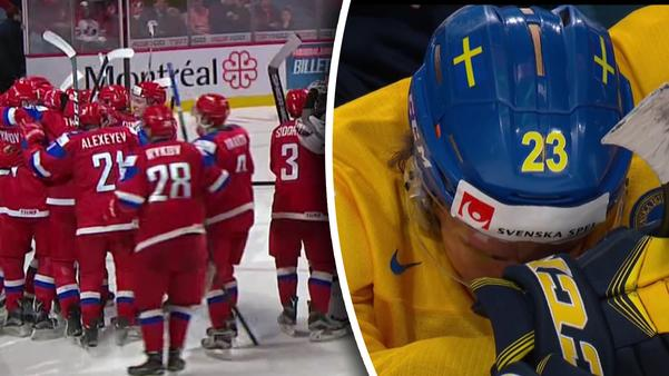 Sverige deppade efter bronsförlusten.