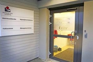 Folktandvårdens klinik i Gällö (bilden) eller i Bräcke kommer att avvecklas.