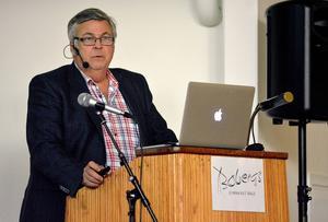 Årets förebyggare Tommy Moberg berättade bland annat om baksidorna med dopning och kosttillskott.