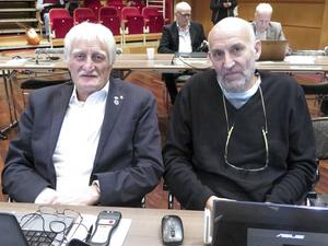 David Bell (MP) och Mats El Kott (L).