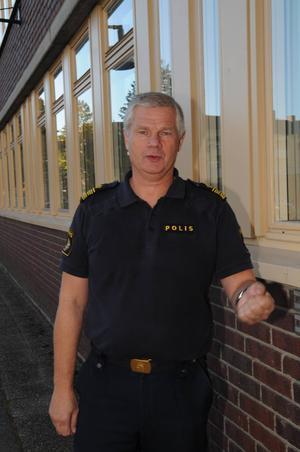 Morgan Norman trafikpolischef i Sundsvall ser positivt på att man kan utrusta bilar med alkolås.