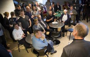 Runt 70 personer samlades i Propell Innovations lokaler på Käppuddsgatan.