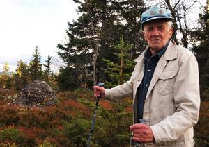 Skogvaktaren Ingemar Gustavsson känner till ödemarken i Orsa finnmark som ingen annan.