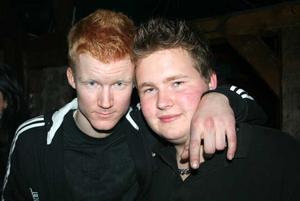 Konrad. Johan och Robin