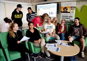 Om några veckor så åker nio elever från Bobergsgymnasiet till USA för att delta i årets Global Classroom-konferens.