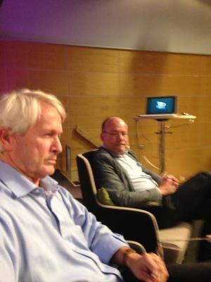 Per Molander, på bokmässan i Göteborg, då han talade om sin bok Ojämikhetens anatomi.