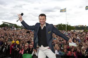 """SISTA CHANSEN. Anders Lundin knyter ihop sin sjätte säsong som programledare av """"Allsång på Skansen""""."""