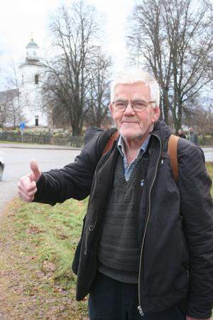 Läge attnä göra tummen upp tycker Karl Åkerblom som nu ser att visionen är på väg att realiseras