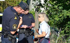 Gabrielle Ehnemark hittade den avslängda flickan som stod och grät under en järnvägsbro.