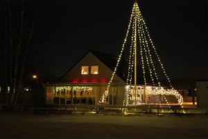 Julstämning på Löpargatan, Rönnby.