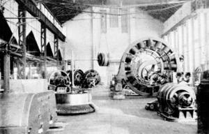 Roterande maskiner hamnade i Västerås efter Grängesbergsbolagets svek men Ludvikaverlen tillverlade också allt från elektriska strykjärn till spårvagnar