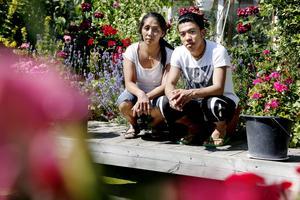 Hanif Nagavi har bott hos Elizabeth Englund i Norrtälje i tre och ett halvt år. Nu ska han utvisas till Afghanistan.
