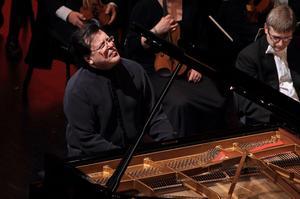 Pianisten Andrei Gavrilov gillar Gävle och uppträdde i Konserthuset för andra gången på kort tid.