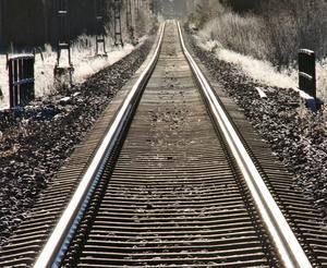 Nyåret 2014 på järnvägen mellan Ramnäs och Surahammar
