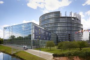 Har svenska EU-parlamentariker en linje, och partierna I Sverige en annan om gemensamt EU-försvar? Bilden är på Europaparlamentet.