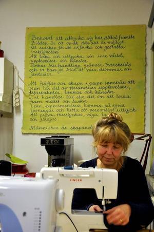 Maud Hedén Wikander har lagt ner ett enormt arbete på kostymerna.