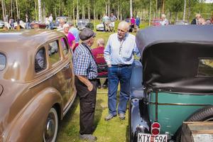Kent Hansson från Järvsö visade sin Chevrolet Capitol från 1927. Den köpte hans farfar det året och den har funnits i familjen sedan dess.