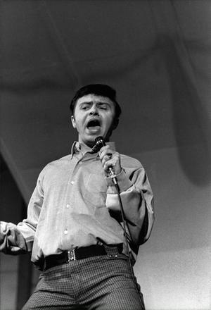 Jerry Williams  på Gröna Lund 1966.         Foto: Bo Schrieber/SvP/Scanpix