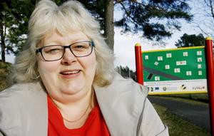 – Det är roligt att den här satsningen blivit så uppmärksammad, säger Susanne Sjödin, Backe IF.