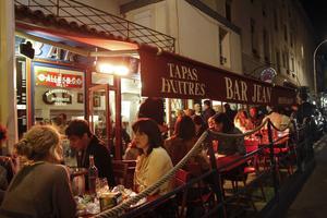 Bar Jean – en klassiker i Biarritz.   Foto: Annika Goldhammer