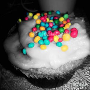 En redigerad bild på min cupcake gjort av mig själv!