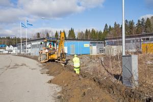 Byggstopp råder i Kalvö industriområde. Det hindrar lokala företag från att utvecklas, menar Petter Fagerlind.