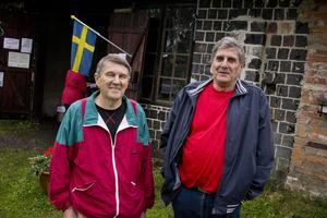 Åke Ytterberg och Karl-Erik Pistol besökte Järnets dag.