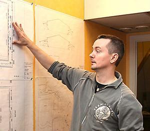 Fredrik Andersson har hoppat av Brobergs arenaprojekt.
